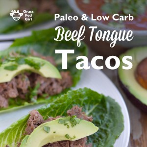 Easy Paleo Beef Tongue Barbacoa Tacos