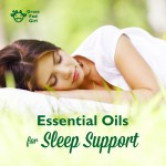 Essential Oils for Sleep Support