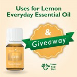 Uses for Lemon Everyday Essential Oil and Giveaway