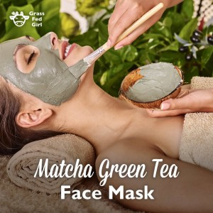 Matcha Green Tea and Frankincense Face Mask
