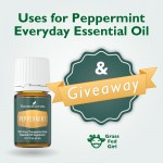 Everyday Essential Oils: Peppermint Uses and Giveaway
