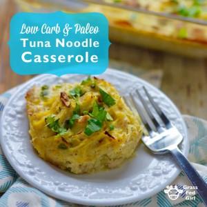 Paleo Diet Tuna Noodle Casserole Recipe