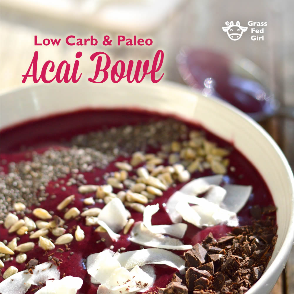Keto Acai Bowl Recipe