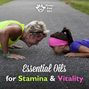 Essential Oils for Stamina and Vitality