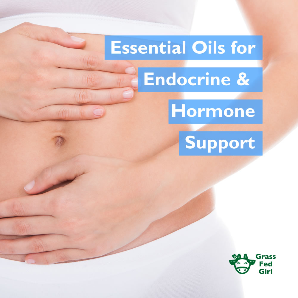 Essential Oils For Endocrine And Hormone Support