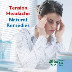 Tension Headache Natural Remedies