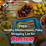 Mediterranean Paleo Diet Shopping List for Costco