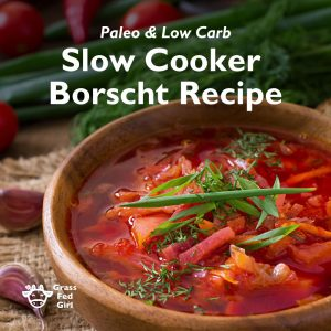 Healthy Slow Cooker Borscht Recipe