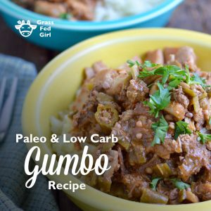 Keto Gumbo Recipe (Paleo, low carb, gluten free)