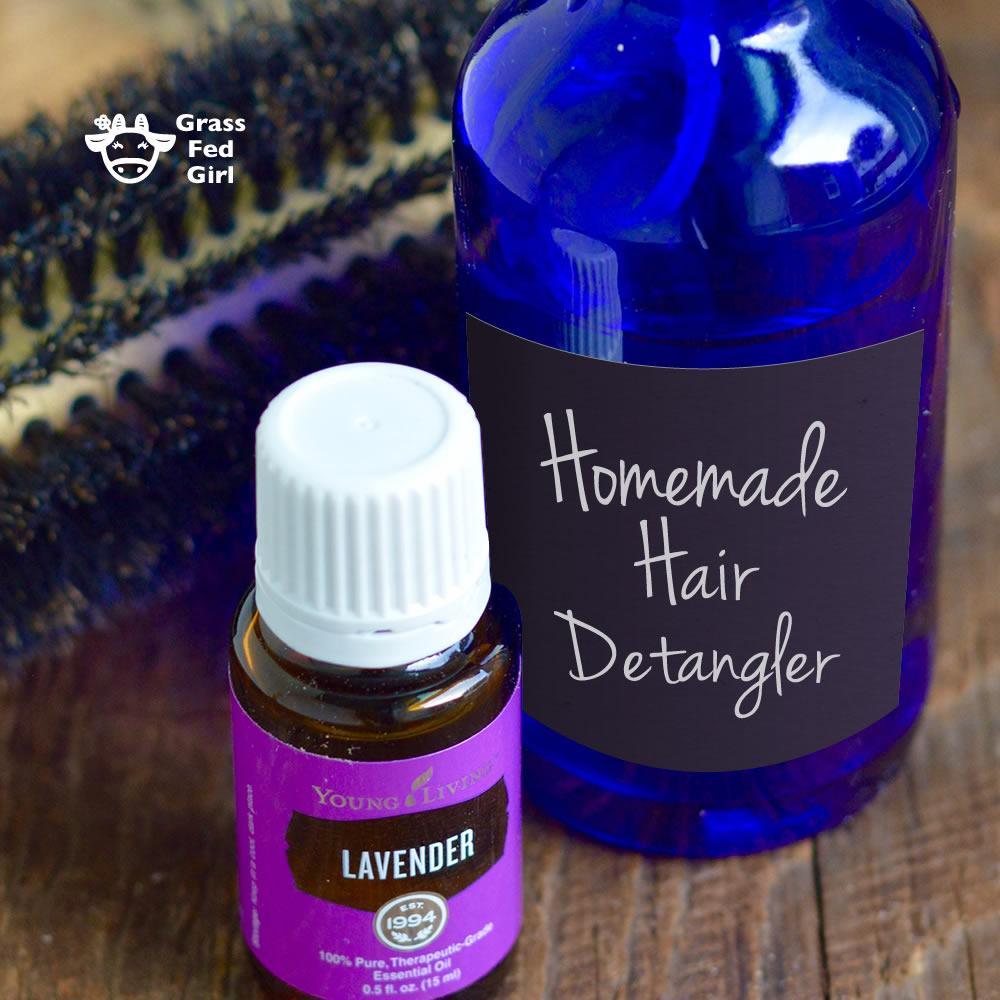 Homemade Hair Detangler Recipe