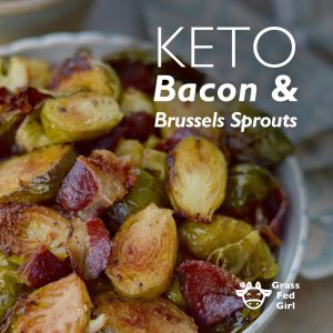 Keto Bacon and Brussels Sprouts