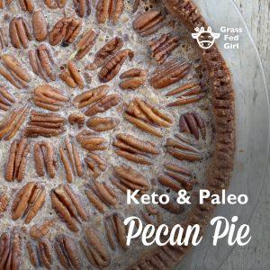 Low Carb and Keto Pecan Pie Recipe