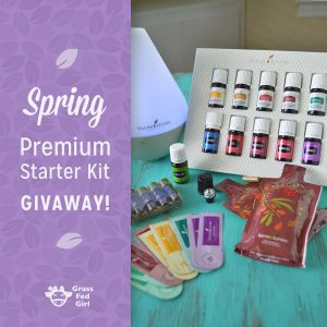 Spring Essential Oil Premium Starter Kit Giveaway