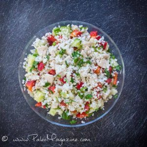 Paleo Chicken Couscous salad