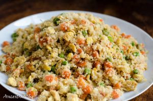 Paleo Chinese Cauliflower Fried Rice