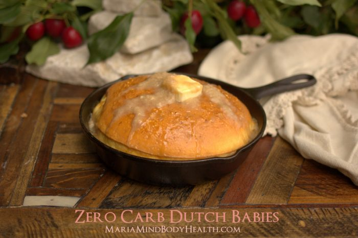 Low Carb dutch baby pancakes