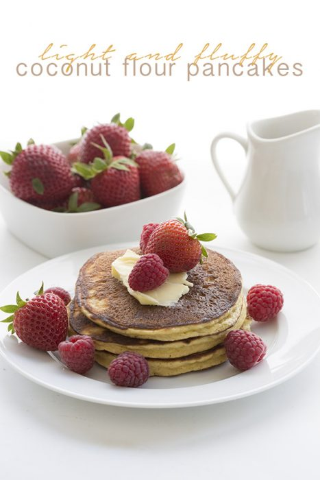 Best coconut flour low carb pancakes