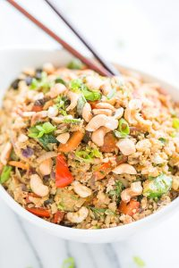 Paleo 5 Spice Cauliflower fried rice