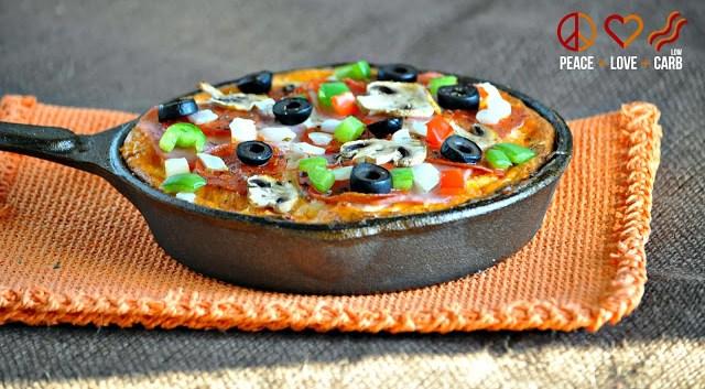 Keto Pizza Frittata