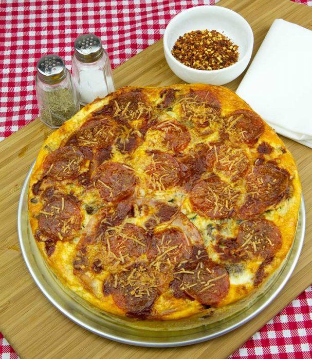 Keto pizzattata