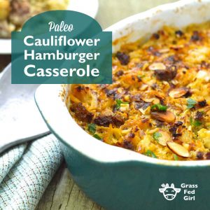 Low Carb Hamburger Casserole Recipe