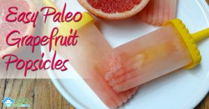 Easy low carb ice cream recipes Grapefruit popsicles