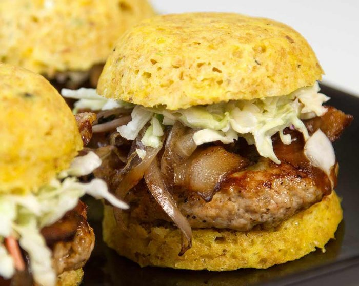 keto BBQ Recipe for BBQ Pork Sliders