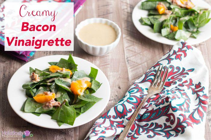 Keto BBQ Recipes for Creamy Bacon Vinaigrette