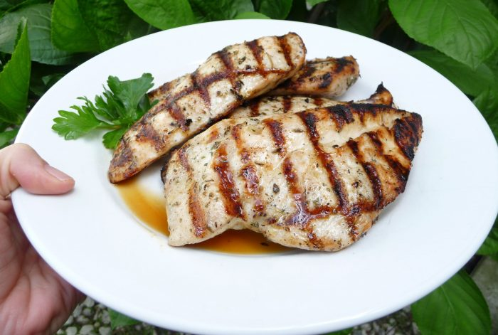 Keto BBQ Recipe for easy grilled herb chicken