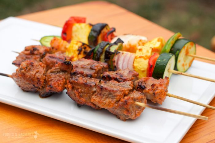 Keto BBQ Recipe for Paleo Beef Kebabs