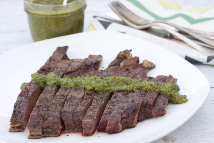 Keto bbq Recipe for Chimichurri Sauce
