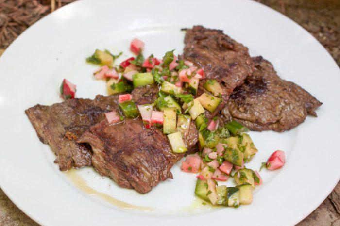 Keto BBQ Recipe for paleo skirt Steak