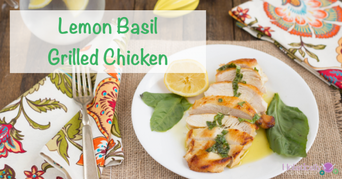 keto bbq recipe for paleo lemon basil grilled chicken