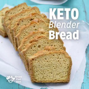 Easy Low Carb Keto Blender Bread Recipe