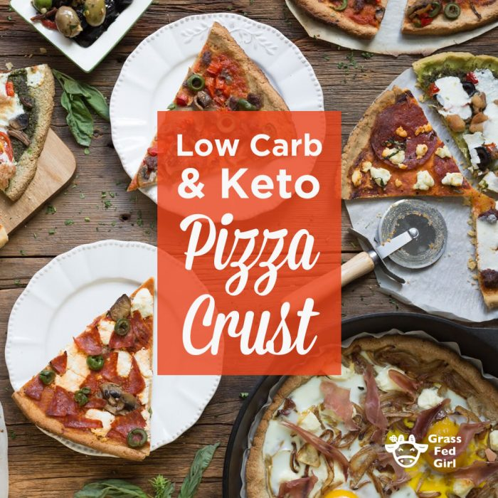 low carb and keto pizza crust