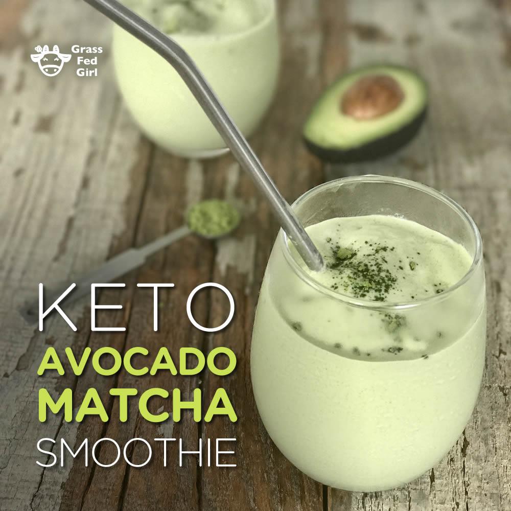 How To Make Keto Avocado Smoothie