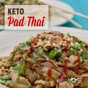 Keto Pad Thai Recipe
