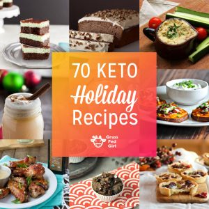 70 Keto and Low Carb Holiday Recipes