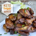 Keto Teriyaki Wings Recipe