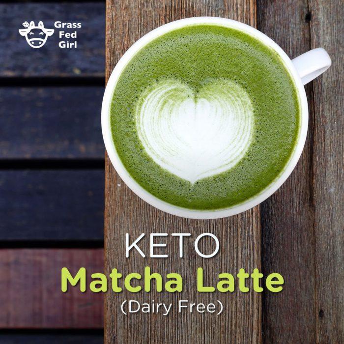 Keto Matcha Latte Recipe From Grass Fed Girl