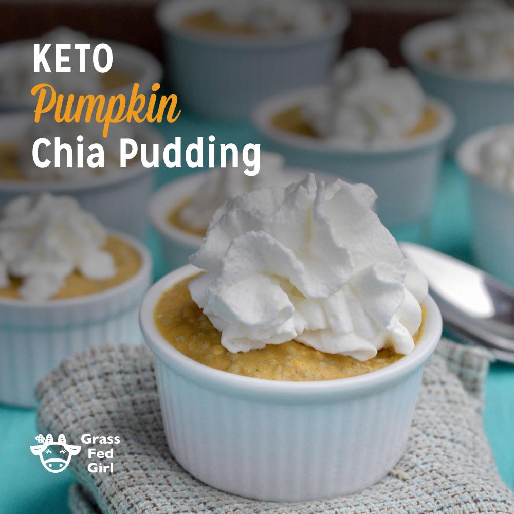 Keto Pumpkin Chia Pudding