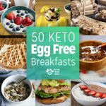 50 Egg Free Low Carb and Keto Breakfasts