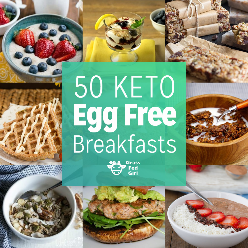 Egg Free Low Carb And Keto Breakfasts