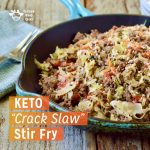 """Keto """"Crack Slaw"""" Stir Fry"""
