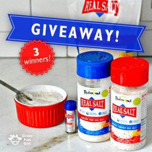 Redmond Real Salt Seasoning Pack Giveaway
