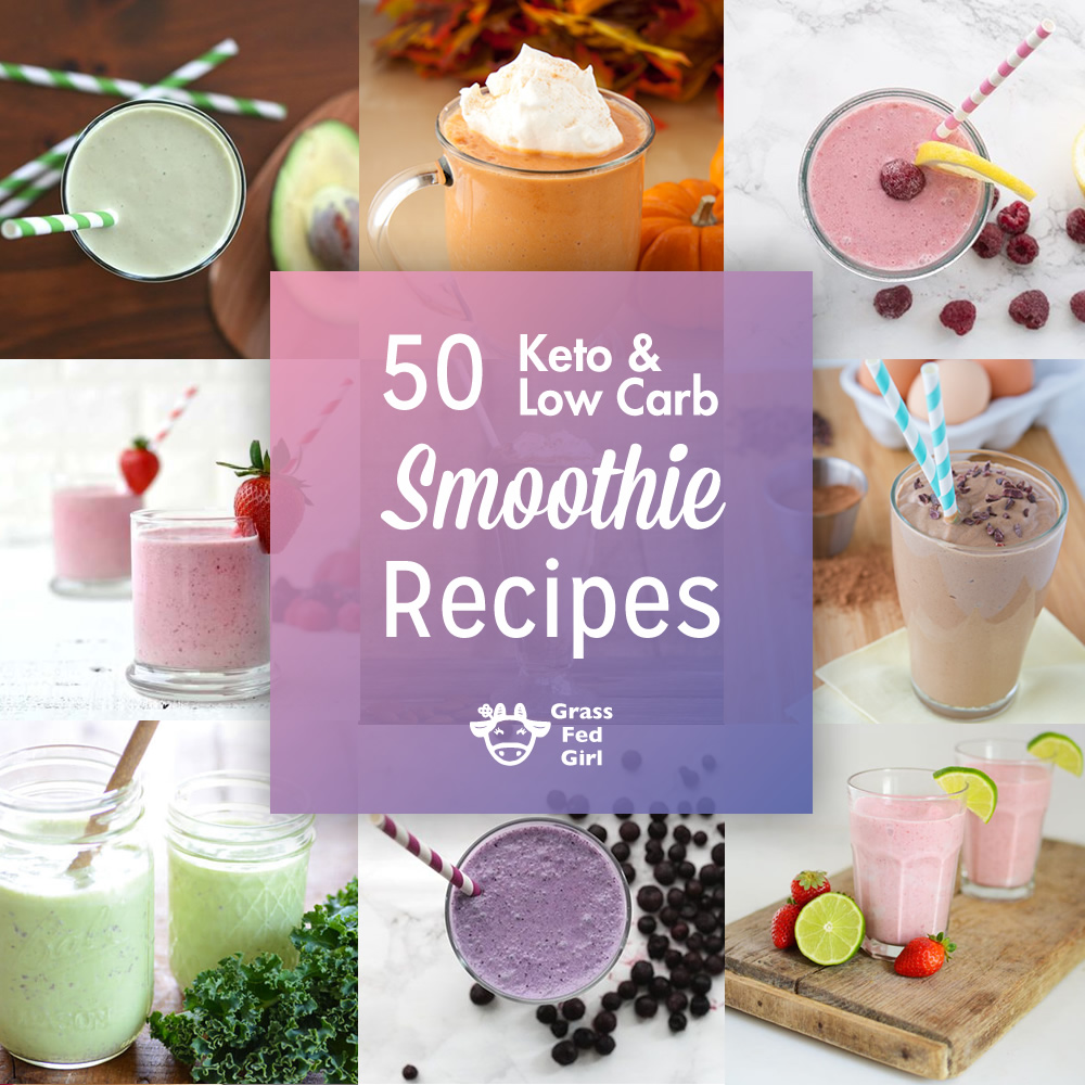 Low Carb And Keto Smoothies