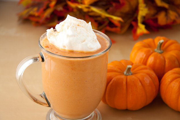 pumpkin spice low carb keto smoothie