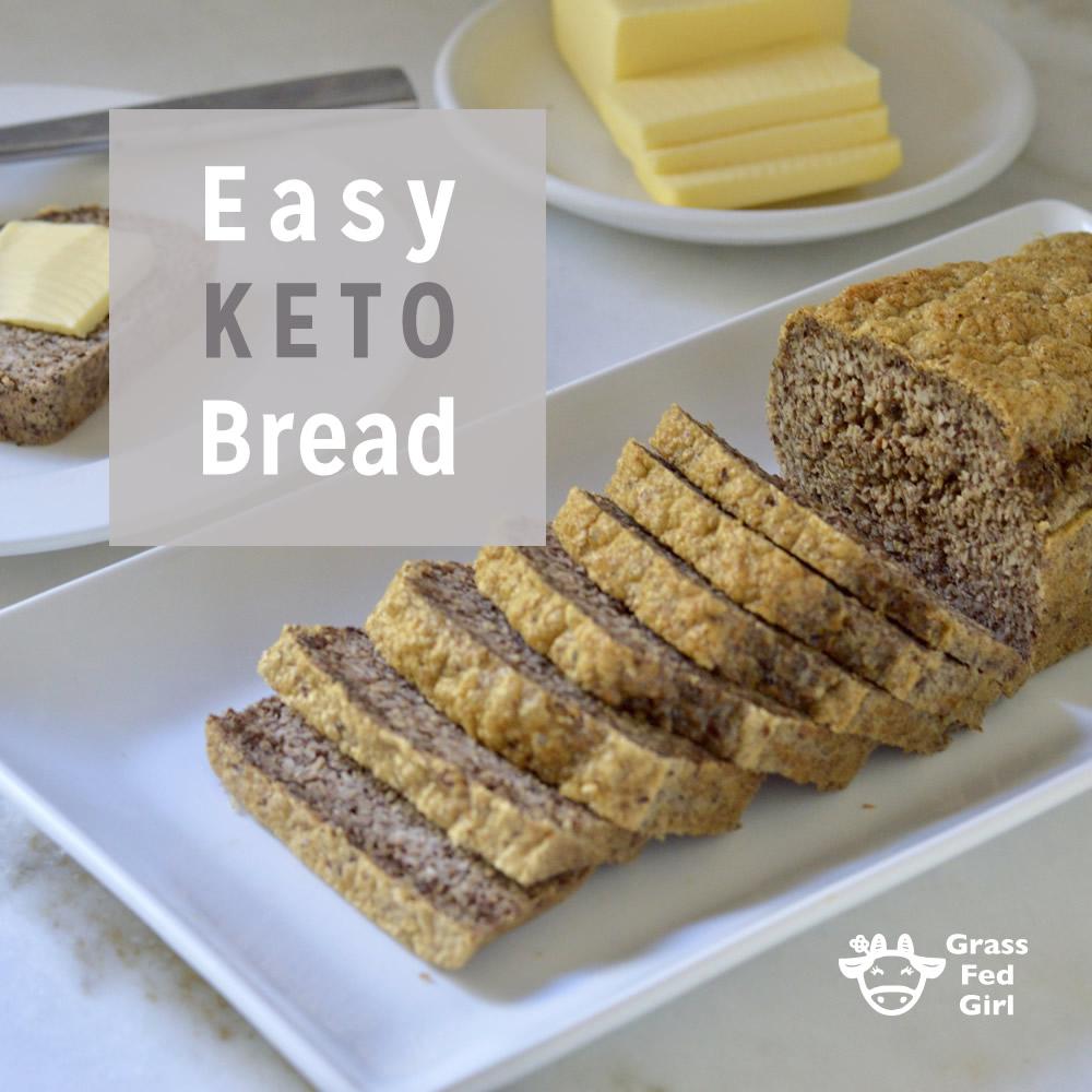Easy Keto Bread Recipe: Easy Keto Bread Recipe