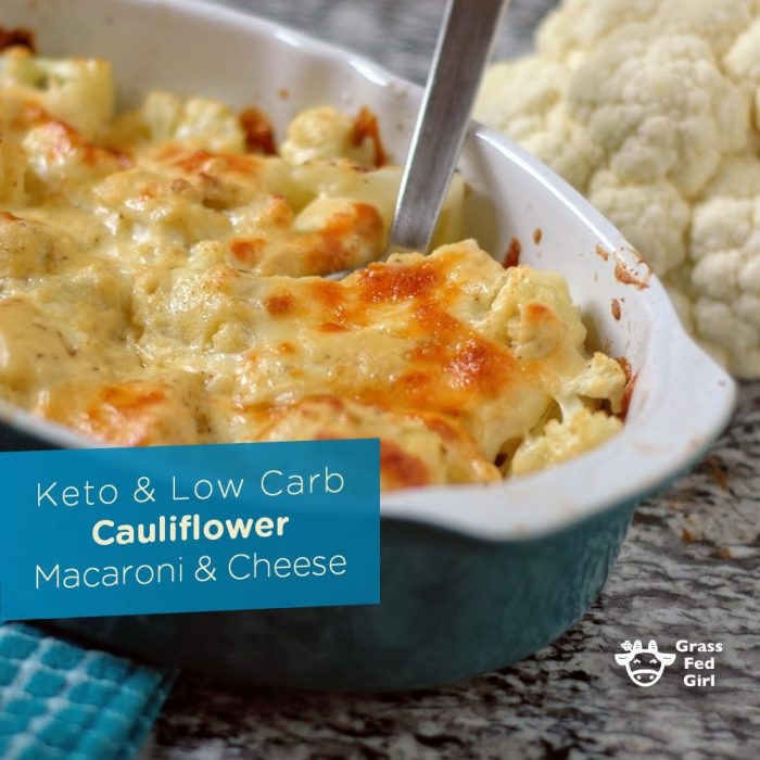 low calorie mac and cheese with cauliflower