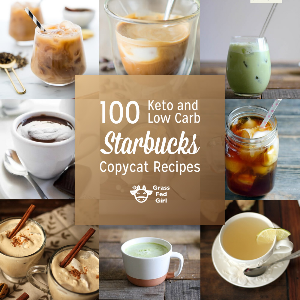 Low Carb and Keto Starbucks Coffee Recipes